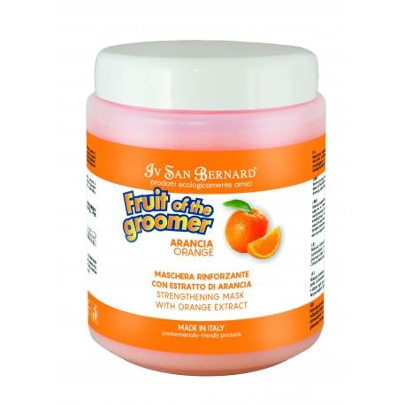 Maska ARANCIA pomeranč - pro suchou, matnou srst